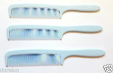 Baby Comb Baby Hair Comb Pink Blue Ivory 13.5 cm (pkt 3)