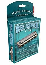 "HOHNER BIG RIVER 590 HARMONICA ""Bb"" HARP BRAND NEW IN CASE SALE"