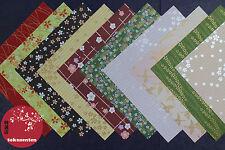 Papier Décoratif Japonais Yuzen 20 NEUF ORIGAMI PAPIER Yuzen Japan Art Paper NEW