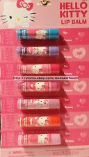 HELLO KITTY* by SANRIO 7pc Set/Lot VALENTINE'S DAY Card+Lip Balm FOR CLASSMATES