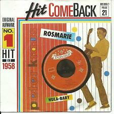 7'Peter Kraus   Rosmarie/Hula-Baby  50's SCHLAGER GOLD*HIT COMEBACK