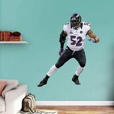 "RAY LEWIS 5'4"" X 5'10"" Lifesize Only Ravens Super Bowl XLVII REAL BIG FATHEAD"