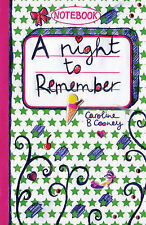 A Night to Remember (Love Notebook), B. Caroline Cooney, New Book