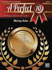 New A Perfect 10, Bk 1 : 10 Winning Solos in 10 Styles Bk 1 (2013, Paperback)