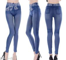 BD Women Girl Girdle Jeans Casual Denim Skinny Sexy Leggings Slim Pants Trousers