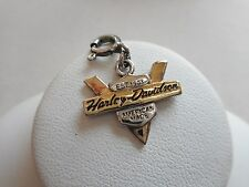2004 Authentic Harley Davidson Sterling Silver GF EST 1903 Charm or Pendant RE52