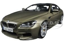 BMW M6 F13M COUPE FROZEN BRONZE 1/18 DIECAST CAR MODEL BY PARAGON 97053