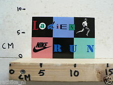 STICKER,DECAL NIKE LADIES NIKE RUN