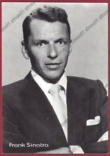 FRANK SINATRA 08 ATTORE ACTOR CINEMA MOVIE STAR CANTANTE SINGER Cartolina