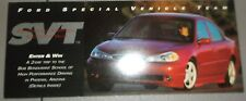 1997 Ford SVT Sweepstakes Enter to Win Form Literature