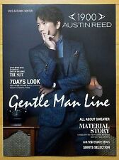 JI SUNG/Korean Actor/AUSTINREED/Fashion Catalogue/Fall Winter 2015/Brand New