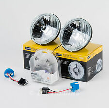 """5 3/4"""" Round Sealed Beam Headlamp Conversion with 2 DOT Clear Bulbs H5006"""