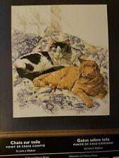 Bucilla Cross Stitch Kit Cats on Toilet by Nancy  Rossi