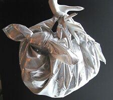 Comme des Garçons Metallic Silver Hobo Bag Rei Kawakubo Dover Street Market Chic