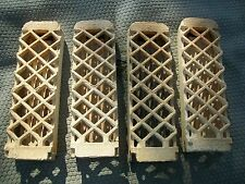 "Ceramic Heater Bricks 8.5"" x 2.5"" Hubbard No. 68 for propane natural gas Qty 4"
