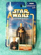 SUPREME CHANCELLOR PALPATINE '02#39 - Star Wars attack of the Clones figure