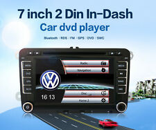 7 inch 2 Din HD Car DVD Player GPS Nav For VW Golf POLO Caddy Golf GTI Touran