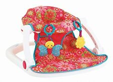 Fisher Price Sit Me Up FLOOR SEAT, Supportive Upright BABY SEAT, Girl