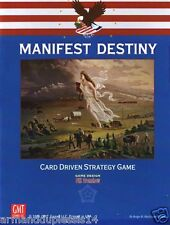 MANIFEST DESTINY CARD DRIVEN STRATEGY GAME GMT 2005 GIOCO DI STRATEGIA STORICO