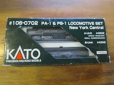 Kato N scale 106-0702 New York Central NYC PA-1 & PB-1 #4202 & 4302  Free ship!