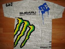***HOT ITEM** NWOT DC SHOES KEN BLOCK MEN MONSTER SUBARU FORD T SHIRT LARGE