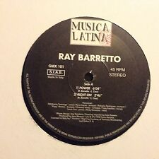 RAY BARRETTO • Power • Vinile 12 Mix • GMX 101