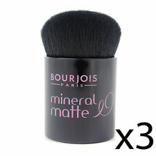 Foundation Kabuki Brush Bourjois Matte Mineral Powder Makeup Applicator 3 Pack