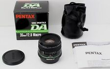 【Near MINT!!!】 SMC PENTAX DA 35mm F2.8 Macro Limited W/ Original Box,Case Japan