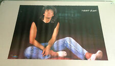 Robert Plant poster Led Zeppelin 1983 Starmakers vintage pin-up rock & roll 80s