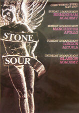 Poster STONE SOUR - Come Where (Ever) May Tour 14361