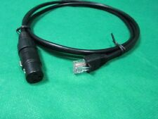 DMX XLR Female to Cat 5e Adapter Cable For LOR iDMX-1000, SIRS-E LED-CON2, 3 Ft.