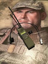 Caltek internacional Militar A-tacs Radio & Micrófono Suelto 1/6th Scale