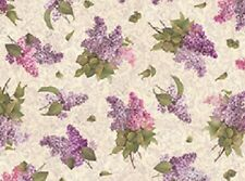 1 Half Metre Quilting Treasures Chateau Floral Flower Print Fabric - 23167