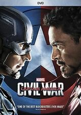 Captain America 3 Civil War (DVD 2016)NEW ROBERT DOWNEY JR ACTION SEALED !