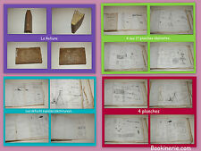 17 planches dépliantes dans le Traité Élémentaire de Physique par Athanase Dupré