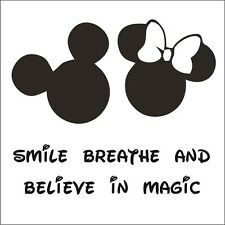 Disney Font Believe in Magic - Choose Size & Color - Mickey Mouse, Minnie Mouse