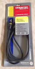Monster Cable Standard Video 1 RCA Cable 2 Meter 6.5 Feet Length NEW SV1R-2M