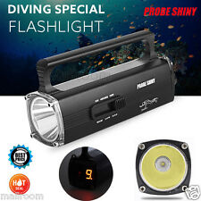 8000LM CREE XM-L2 T6 LED Scuba Diving Underwater 130M Torch Taschenlampen+Lade