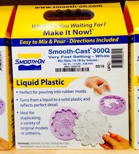 Smooth-On SMOOTH CAST 300Q - 2 Pint Kit Bright White Liquid Plastic NEW!