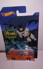 Bat man car HOT WHEELS GENERAL LEE DUKES OF HAZZARD CUSTOM  super cool batman 4