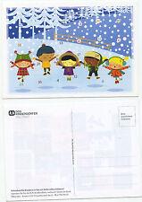 10806 - Adventskalender-Postkarte - SOS Kinderdörfer - Türchen noch geschlossen