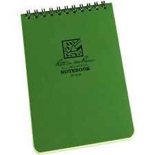 """Rite in the Rain 946 All-Weather Universal Notebook, Green, 4"""" x 6"""""""
