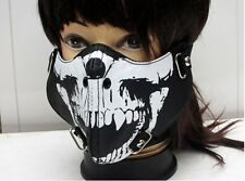 02 Hip-Hop Punk Gothic Cosplay Rock Style STUD Leather Face mask Motorcycle Mask
