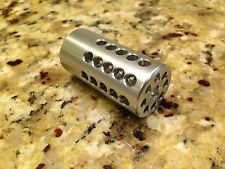 """Tactical Solutions pac-lite .22 Ruger MKIII 22/45 Silver Compensator 1"""" NEW"""