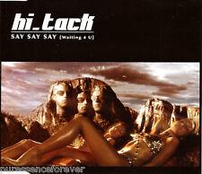 HI_TACK - Say Say Say (Waiting 4 U) (UK 5 Tk Enh CD Single)