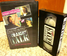 STRAIGHT TALK educational Alcohol & Other Drugs documentary Teen Pressure VHS