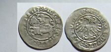 1513 Lithuania- Silver 1/2 Grosz- Armored Knight -500 years old