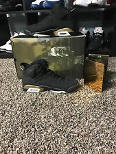 2005 Nike Air Jordan VI 6 Retro DMP BLACK GOLD DEFINING MOMENTS 136038-071 10.5