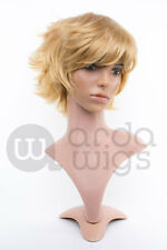 Heat-resistant Nagisa Free: Iwatobi Swim Club Layered Boy-cut Thick Cosplay Wig