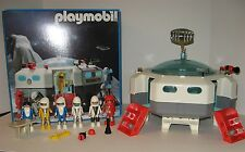 1990 Playmobil Space Station #3536 IOB 6 Astronaut Figures Some Parts
